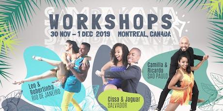 SAMBAKANA Workshops // Ateliers tickets