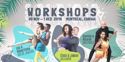 SAMBAKANA Workshops // Ateliers