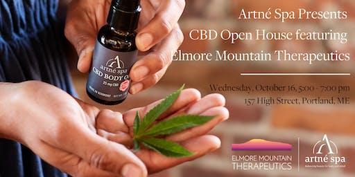 Artné Spa Presents CBD Open House featuring Elmore Mountain