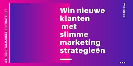 Win nieuwe klanten met slimme marketingstrategieën tickets