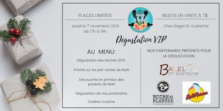 Dégustation VIP  billets
