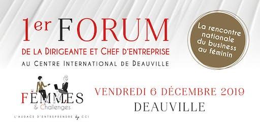 Forum Femmes & Challenges, la rencontre nationale du business au féminin