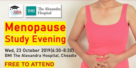 Menopause Study Evening tickets