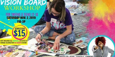 THE POWER OF I AM VISION BOARD EXPERIENCE tickets