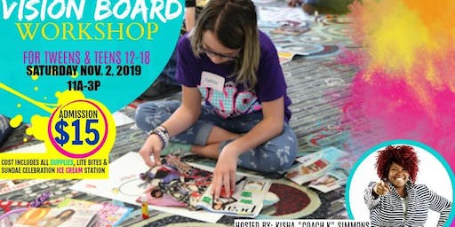 THE POWER OF I AM VISION BOARD EXPERIENCE