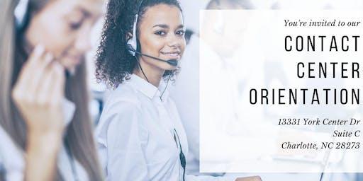 Contact Center Orientation