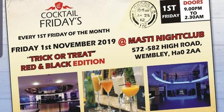 Cocktail Fridays (Trick or Treat Edition) tickets