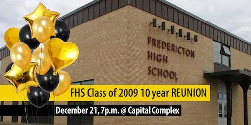 FHS 2009 Grad Class 10-year reunion