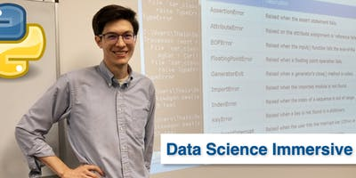 Python for Data Science Immersive • 1 Week Python Bootcamp