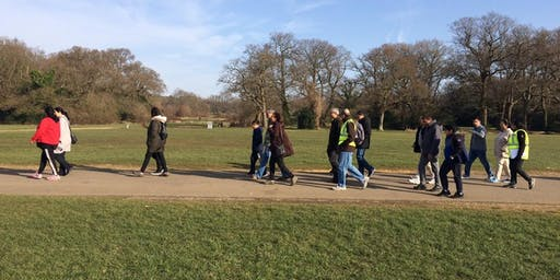 Sustrans Monday morning Health Walk Southampton Central Parks