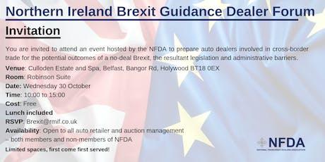 Northern Ireland Brexit Guidance Dealer Forum  tickets