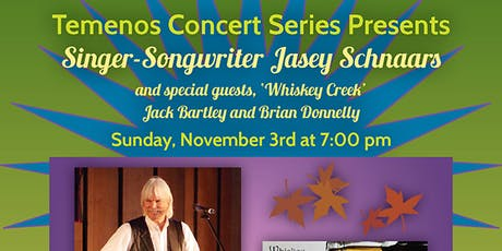 """Jasey Schnaars in Concert with """"Whiskey Creek"""" tickets"""