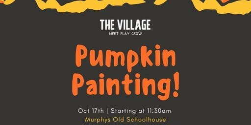 The Village Pumpkin Pop Up!