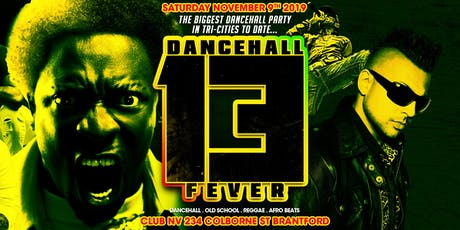 Dancehall Fever 13 tickets