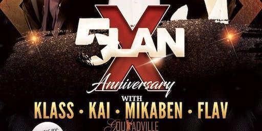 5LAN X ANNIVERSARY FEATURING KLASS KAI MIKABEN FLAV