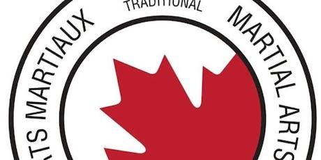 1er séminaire officiel d'arts martiaux multidisciplinaires  AMT Canada tickets