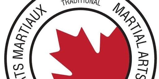 1er séminaire officiel d'arts martiaux multidisciplinaires  AMT Canada