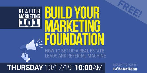 REALTOR Marketing 101: E1: How To Set Up Your Leads and Referral Machine