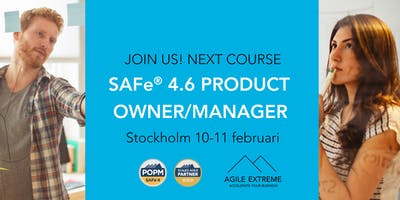 SAFe 4.6® Product Owner/Manager