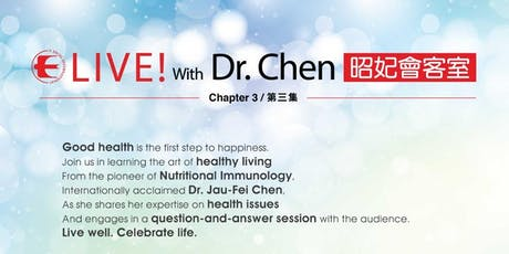 Live with Dr. Chen tickets