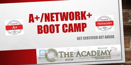 Copy of CompTIA A+/Network+ Boot Camp tickets