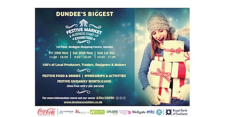 Festive Market and Business Start-Up Exhibition tickets
