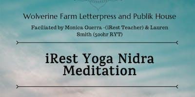 iRest Yoga Nidra Meditation