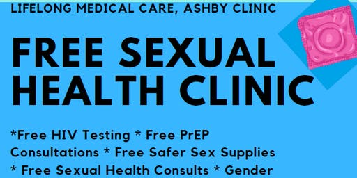 Free Sexual Health Clinic at Ashby Health Center, Free Health Fair
