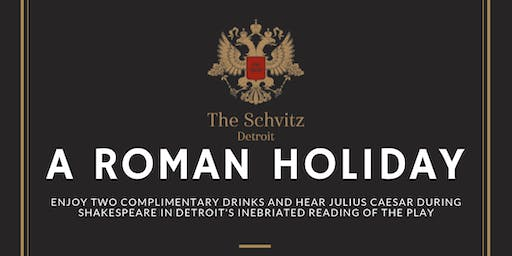A Roman Holiday: Caesar at The Schvitz