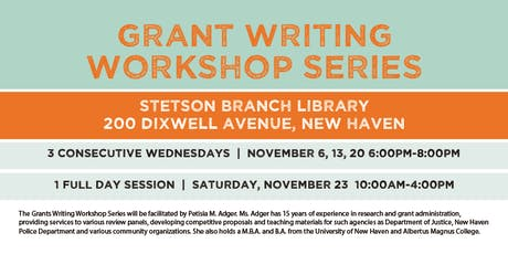 Grant Writing (All Day) - Neighborhood Cultural Vitality Grant tickets