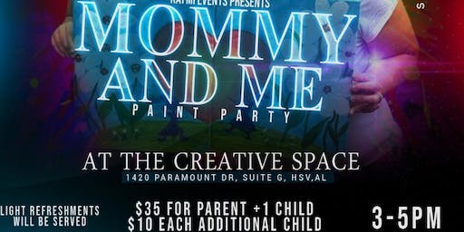 Mommy and Me Paint Party