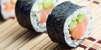Roll like a pro! Hand-rolled sushi class with Chef Jared