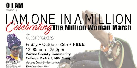 O I AM Presents: I am One in a Million Celebrating The Million Woman March tickets
