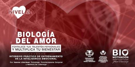 Jornada Intensiva BIOlogía del Amor entradas