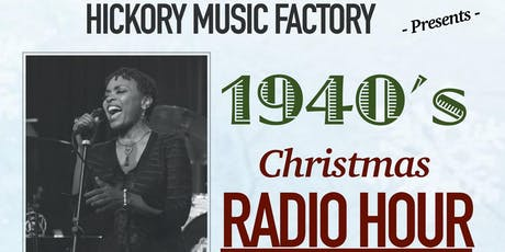 1940s Christmas Radio Hour featuring Maria Howell  tickets