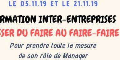 """Management """"Passer du Faire au Faire-Faire"""" Jour 1"""