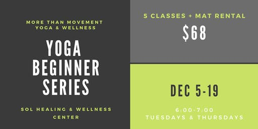 Yoga Beginner Series with Lauren
