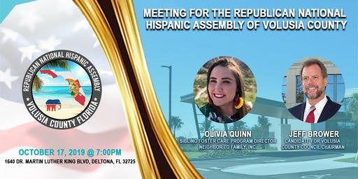 2019 October Volusia County Chapter General Meeting