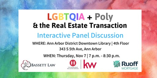 LGBTQIA + Poly And The Real Estate Transaction: What Do You Need to Know?