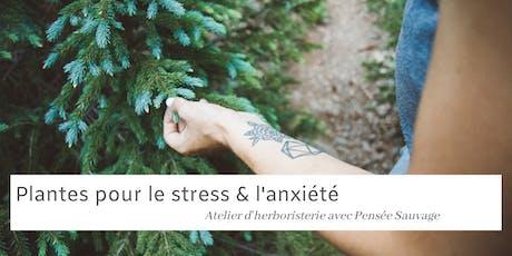 Plantes pour le stress et l'anxiété - Atelier Herboristerie billets