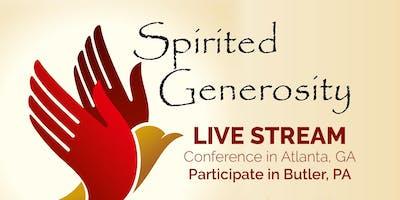 Spirited Generosity (Streamed Conference)