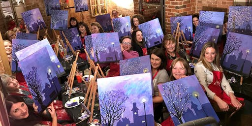 Winter Lights Brush Party – Wantage