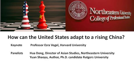 How can the United States adapt to a rising China? tickets