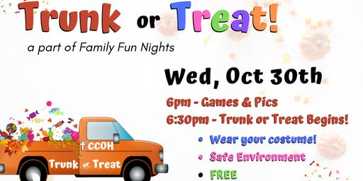CCOH Trunk or Treat