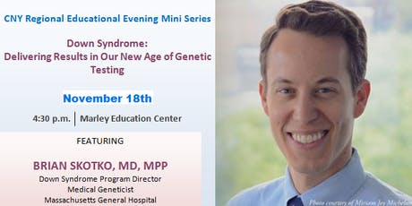 CNY RPP Educational Evening -  Down Syndrome: Delivering Results in Our New Age of Genetic Testing tickets