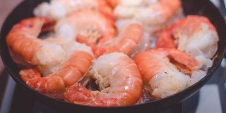 Southern Cajun Shrimp and Grits class with Chef Ola tickets