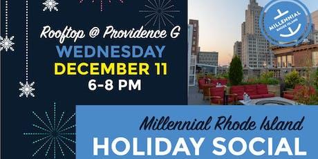 Millennial Rhode Island Holiday Social tickets