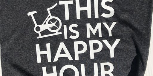 FREE: HAPPY HOUR SPIN: OPEN TO MEMBERS AND GUESTS