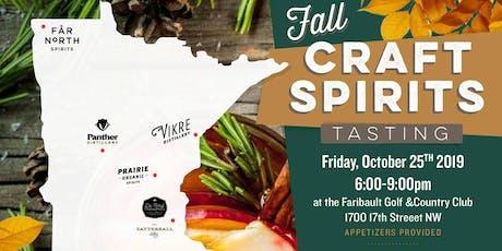 ~Faribault Fall Craft Spirits Tasting~ tickets