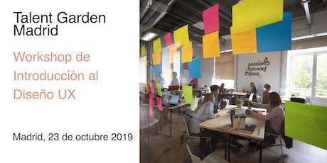 Workshop de Introducción al  Diseño UX entradas